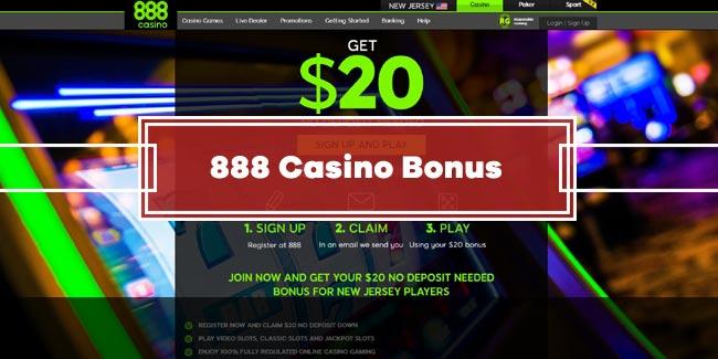 888 Casino No Deposit